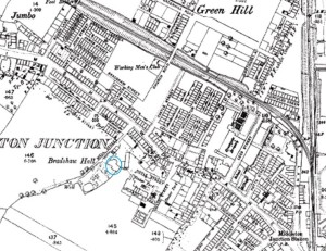 Bradshaw Hall Map 1893