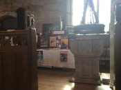 MAS Display in the Baptistry